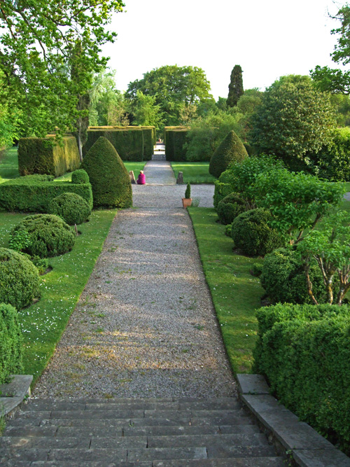 Landscaped gardens originally designed by James Wyatt and later by famous landscape artist Edwin Lutyens.