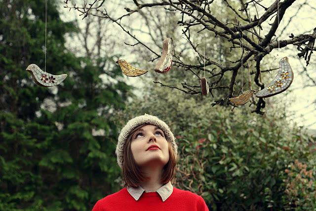 Sadie and little birds
