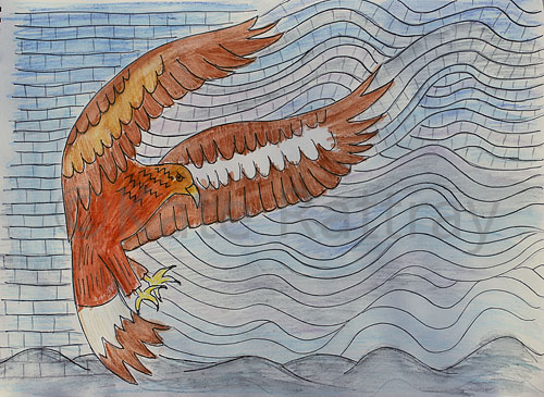 Drawing for Wind Eagle