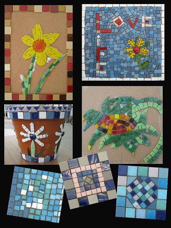Student Mosaics - April 2013