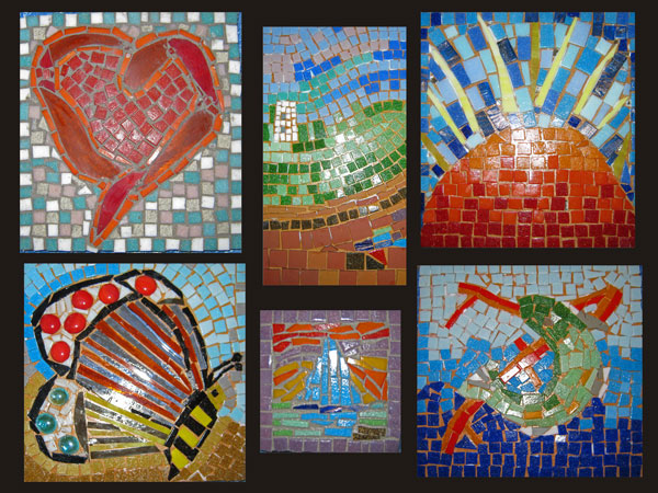 student mosaics March 2013