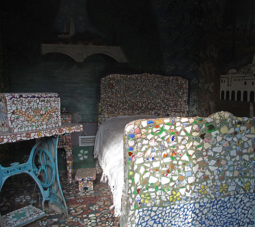 Isidore's bed