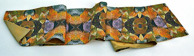 Golden Leaves Scarf