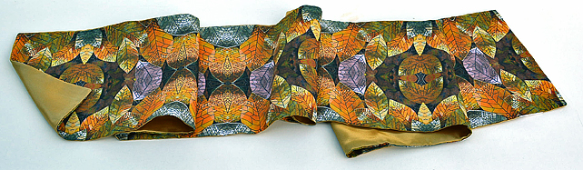 Golden Leaves Scarf