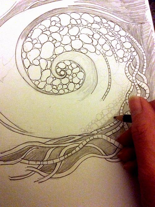 Whirlwind drawing
