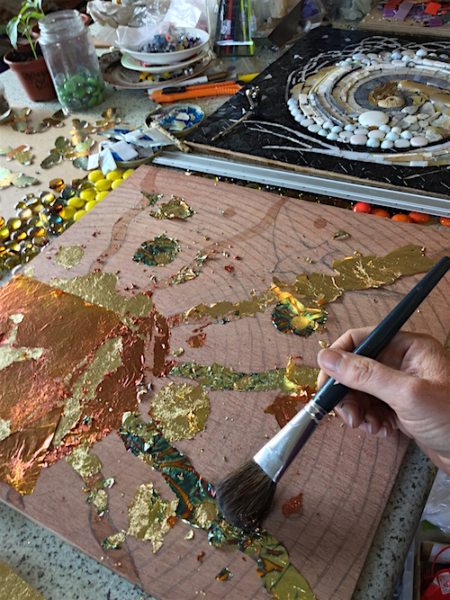 gilding the board