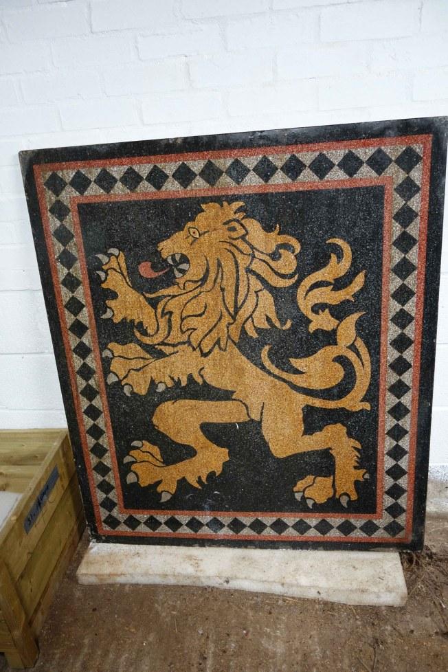 Terrazzo Lion