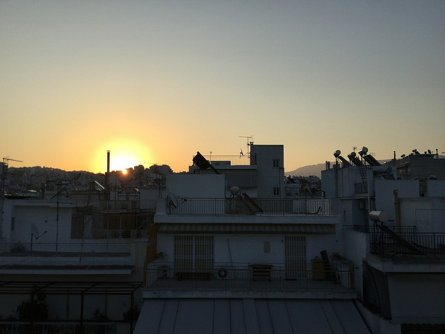 Sunrise in Athens