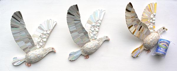 doves who bring ambrosia small