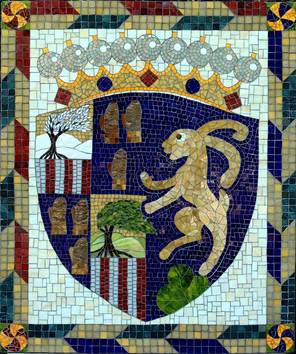 The finished mosaic