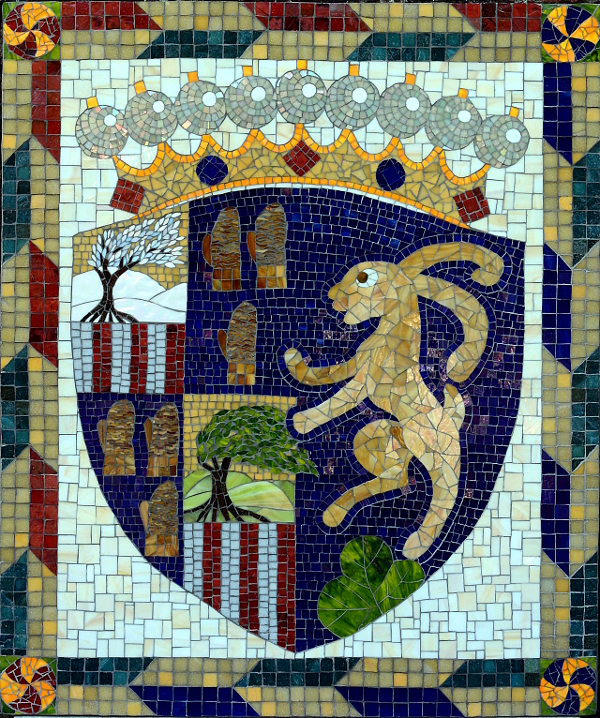 The finished mosaic
