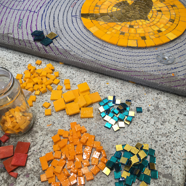 beginning mosaic