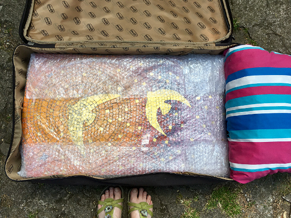 mosaics in a suitcase